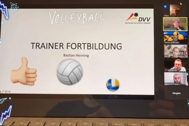 Interne Trainerfortbildung per Videokonferenz