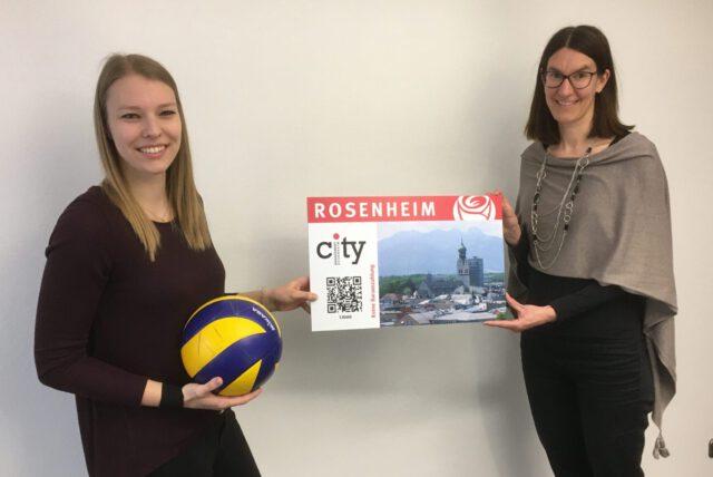 Volleyballer unterstützen Rosenheimer Einzelhandel – Cityschecks für Mitglieder