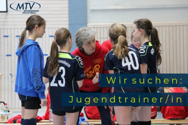 Trainer/in für unsere Jugend gesucht!